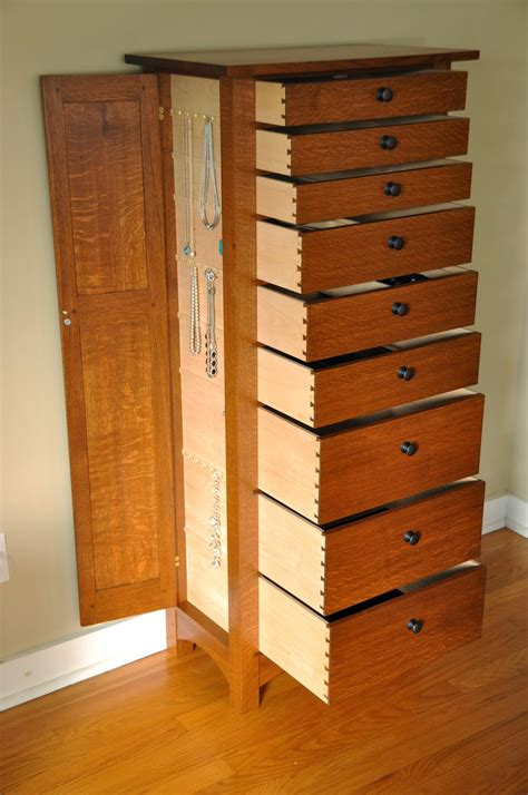 Jewelry Cabinet Woodworking Plans