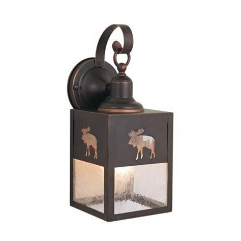 Josefina Rustic 1 Light 100w Outdoor Wall Lantern By Loon .