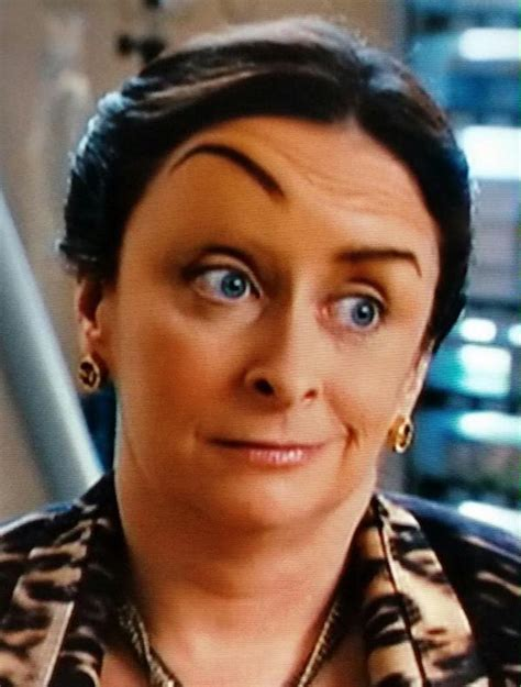 Just Go with It Eyebrow Lady