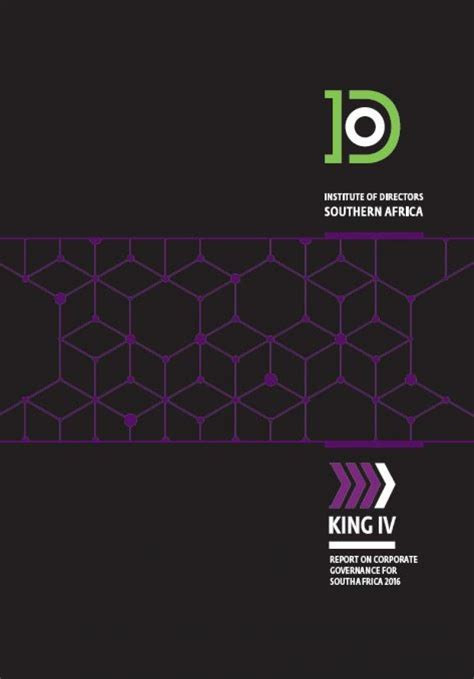 [pdf] King Iv Report On Corporate Governance For South Africa.