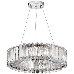 Kk42195ch Crystal Skye Entrance  Foyer Pendant Light .