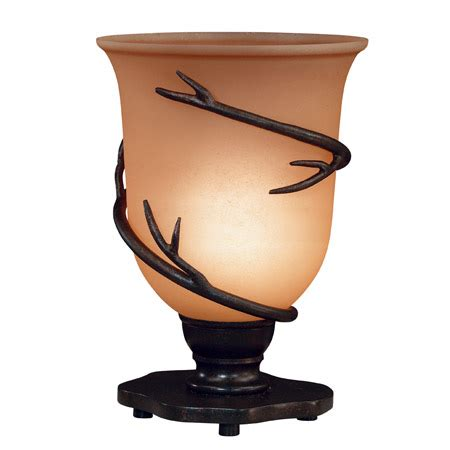 Kenroy Home 30913brz Twigs Table Torchiere With Amber .