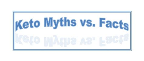 Ketogenic Diet Myths Vs. Facts Nina Teicholz.