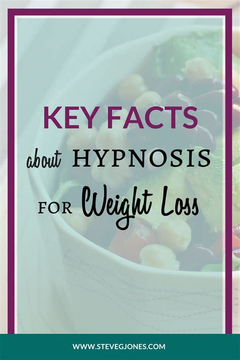 Key Facts About Hypnosis For Weight Loss Hypnosis Mp3.