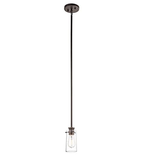 Kichler 43060oz Braelyn Mini Pendant 1-Light Olde Bronze .