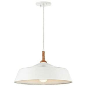 Kichler 43683wh Pendant 1lt In White - Homeperfect Com.