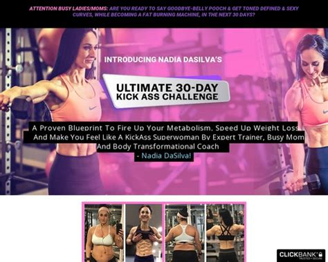 @ Kickass Sales Page - Nadia Dasilva - Weight Loss Help.