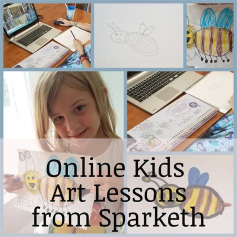 Kids Online Art Lessons * Our Good Life.