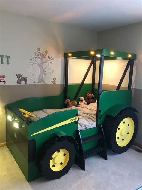Kids Tractor Bed Woodworking Plans