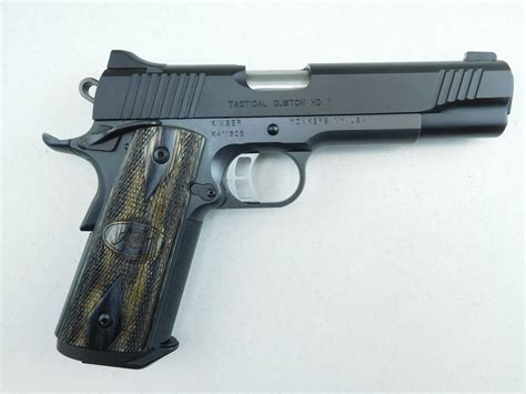 Kimber 1911, Tactical Custom Hd Ii. - Youtube.