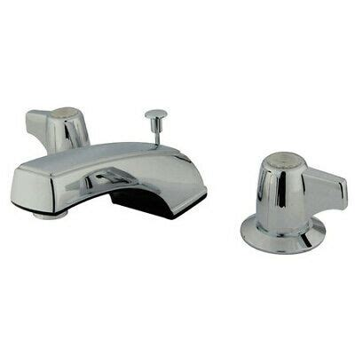 Kingston Brass Kb920 Widespread Lavatory Faucet Polished .
