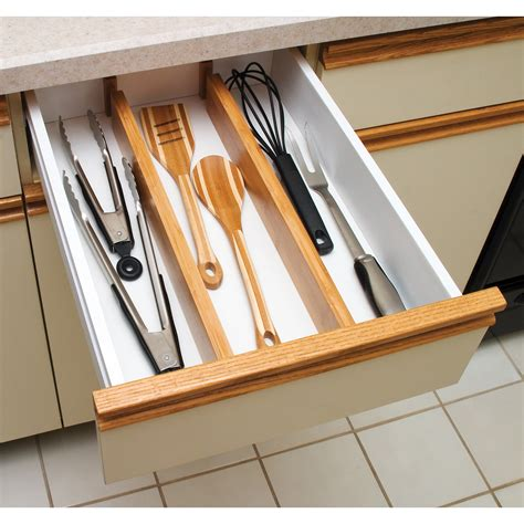 Kitchen Drawer Organizers  Hayneedle.