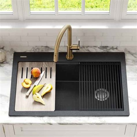 Kitchen Sinks - Drop-In Sinks By Kraus  Kitchensource Com.
