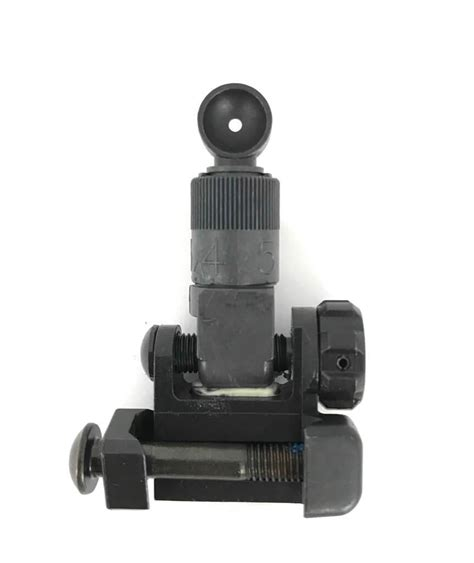 Knights Armament Micro Rear Sights.