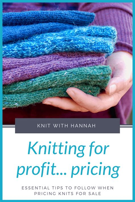 [click]knitting For Profit What Knitted Items Sell Best