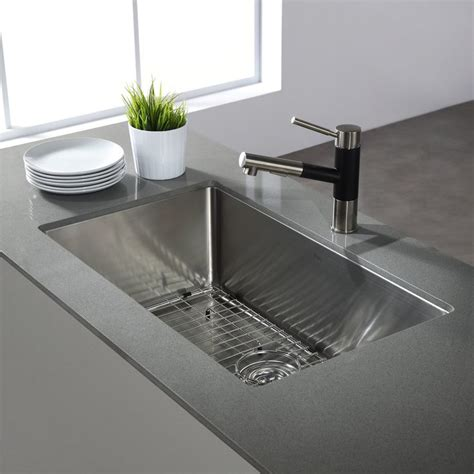 Kraus Stainless Steel Sinks - Home Design Ideas.