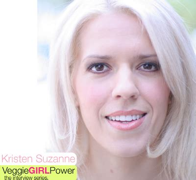 Kristen Suzannes Veggie Girl Power Interview! - Vegan Recipe.
