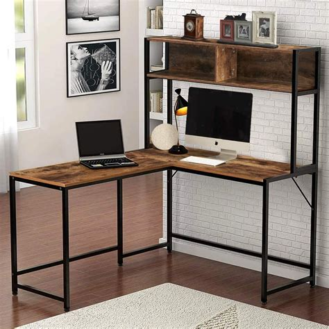L Shaped Office Desks 36 Inches High