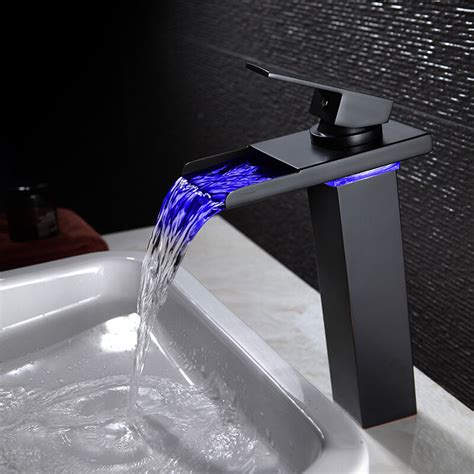 Led Waterfall Faucet  Ebay.