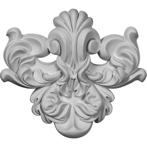 La Rosa Flourish Wall Decoration - More Than Moldings.