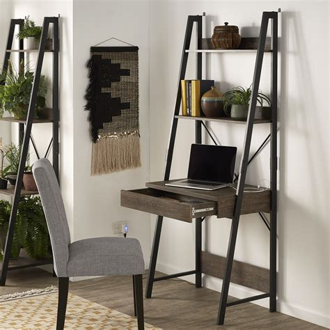 Ladder Desk With Drawer