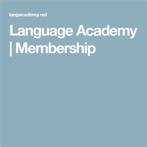 [click]language Academy  Membership.