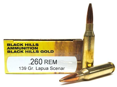 Lapua 139 Scenar - 260 Remington.