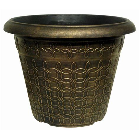 Large Black Garden Planters For Sale  Ebay.