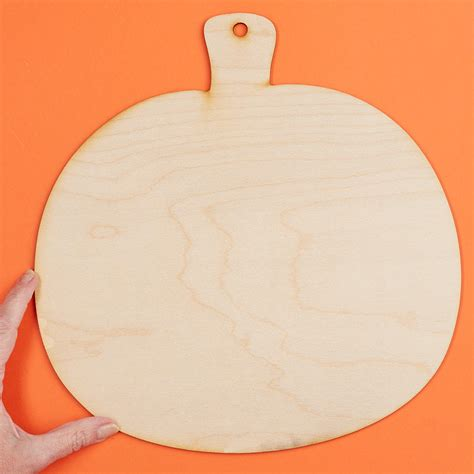 Large Unfinished Wood Cutouts