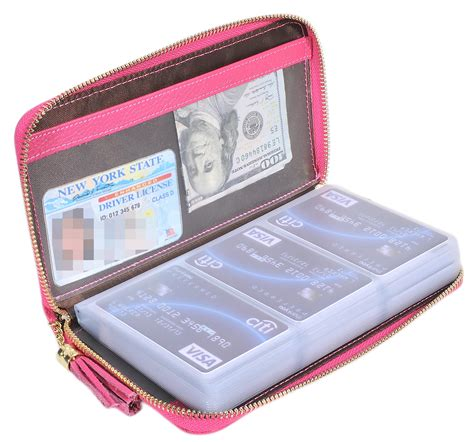 Large Zippered Credit Card Holder