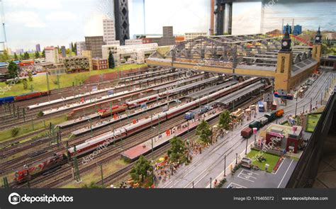 @ Largest Model Train Of The World In Hamburg  Model .