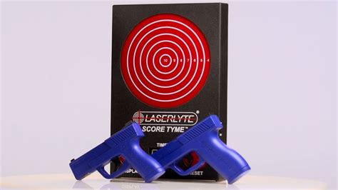 Laserlyte S Trigger Tyme Laser Pistols And Score Tyme Target Guns Gear S7.