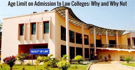 Law College Age Limit