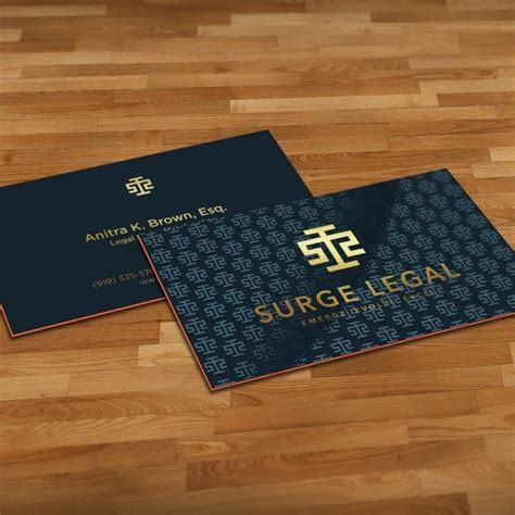 Lawyer Business Cards Logo