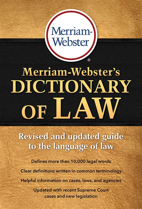 Lawyer Dictionary Words