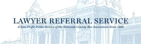 Lawyer Referral Service Riverside Ca