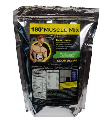 Lean 180° Muscle Mix Protein Powder - Walmart.com.