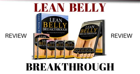 Lean Belly Breakthrough Review (2019): Can It Help You Burn Belly.