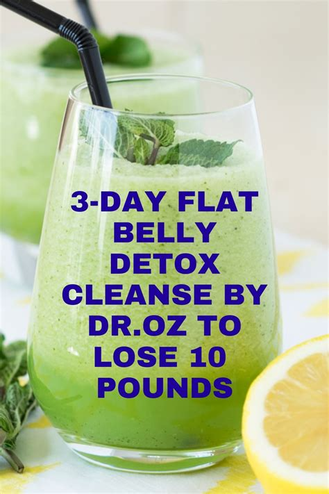Lean Belly Detox Weight Loss Pinterest Detox.