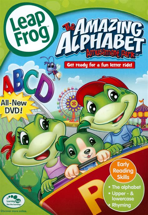 LeapFrog The Amazing Alphabet Amusement Park