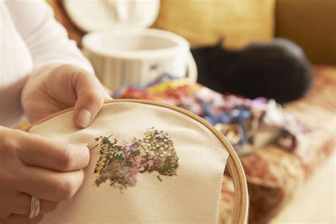 @ Learn The Five Basic Stitches In Cross Stitch.