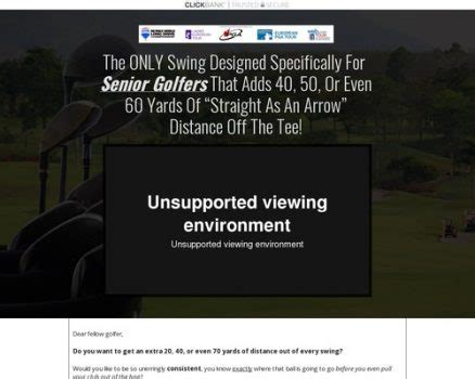 Learning The Best Converting Golf Offer On Cb - Proven On Cold.