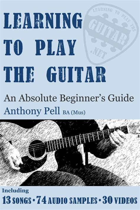 @ Learning To Play The Guitar By Anthony Pell  Overdrive .