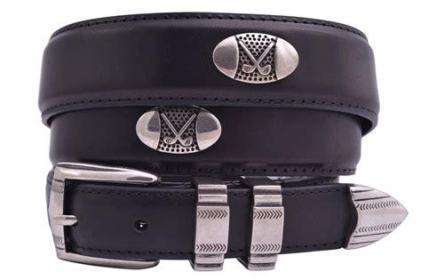 Leather Golf Belts for Men
