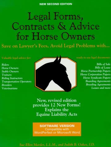 [pdf] Legal Forms Contracts And Advice For Horse Owners Pdf .