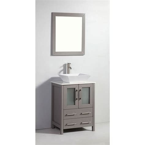 Legion 24 In Bathroom Mirror Silver Gray For Sale Online.
