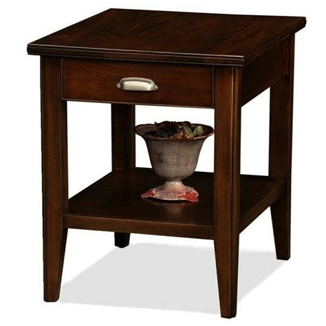 Leick End Table  Ebay.
