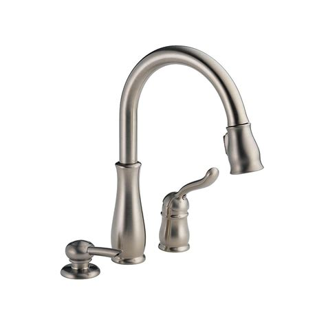 Leland Single-Handle Pull-Down Sprayer Kitchen Faucet In .