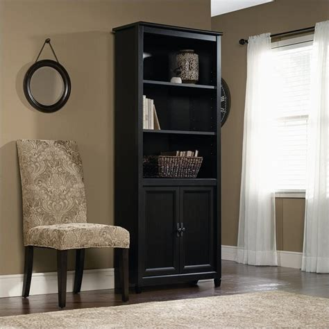 Library Bookcase In Estate Black - 409046.