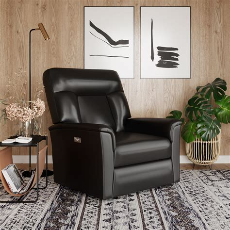 Lifestyle Solutions Relax-A-Lounger Titan Faux Leather .
